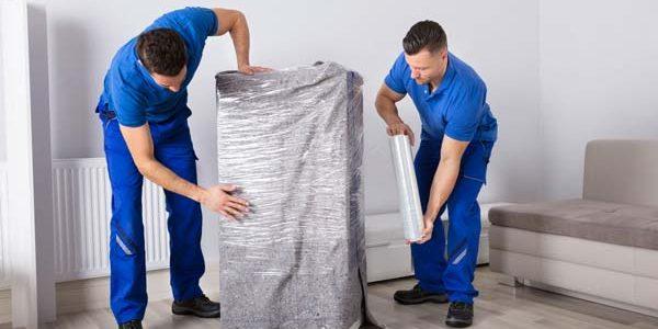 Le procedure dei traslocatori durante il trasloco